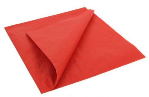 Reno Red Light weight Tissue Covering Paper, 50x76cm, (5 Sheets)